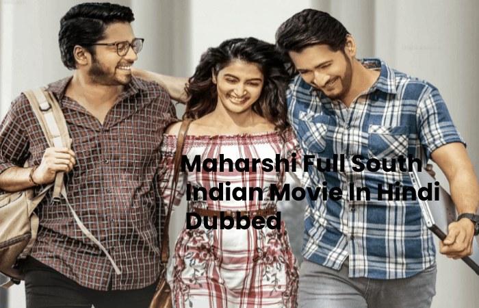 maharshi full movie in hindi dubbed